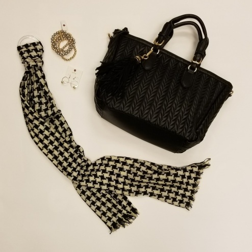 Houndstooth and Gold