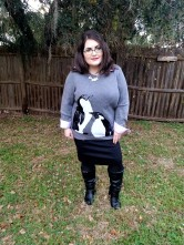 Penguins and Pencil Skirt
