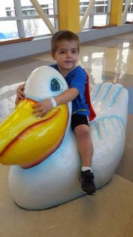 march ethan at children's hospital
