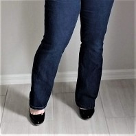 db bootcut jeans front