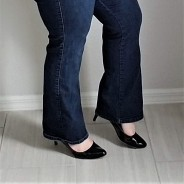 db bootcut jeans side