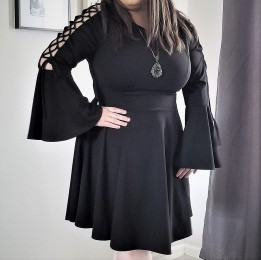 FTF Bell Sleeve Dress